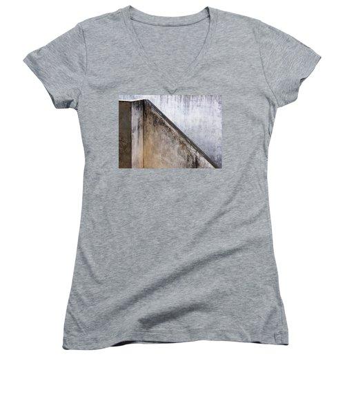 Slide Up Women's V-Neck T-Shirt (Junior Cut) by Prakash Ghai