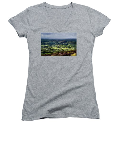 Slieve Gullion, Co. Armagh, Ireland Women's V-Neck T-Shirt