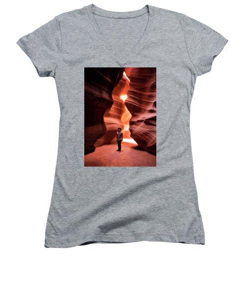 Slot Excursions  Women's V-Neck T-Shirt