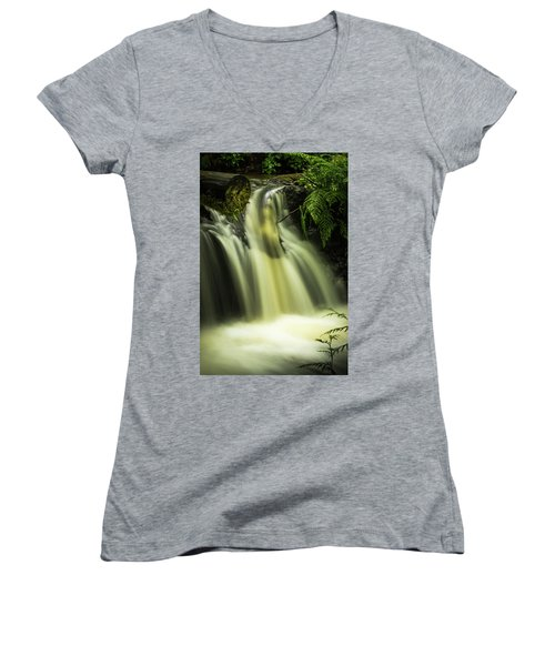 Small Waterfall Women's V-Neck (Athletic Fit)