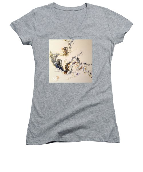 Smoke Women's V-Neck