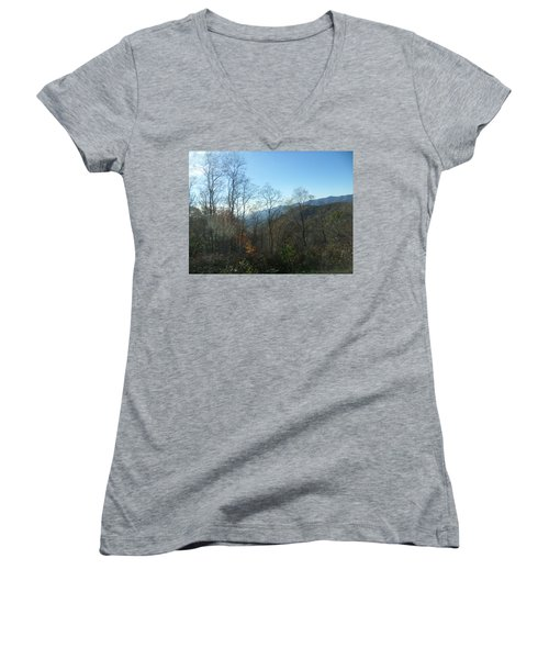 Smokies 15 Women's V-Neck (Athletic Fit)