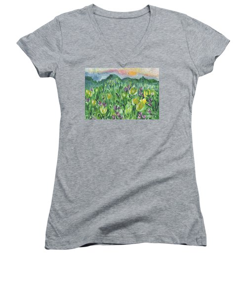 Smoky Mountain Dreamin Women's V-Neck