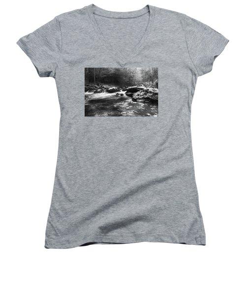 Smoky Mountain River Women's V-Neck