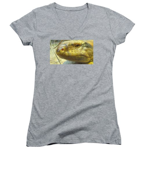 Snake Eye Women's V-Neck