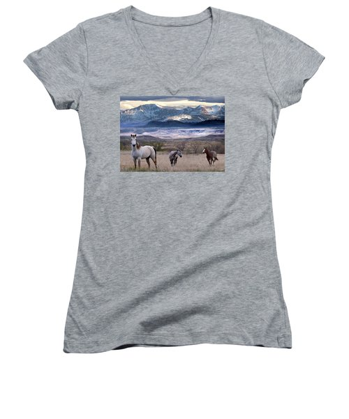 Snapshot Women's V-Neck T-Shirt