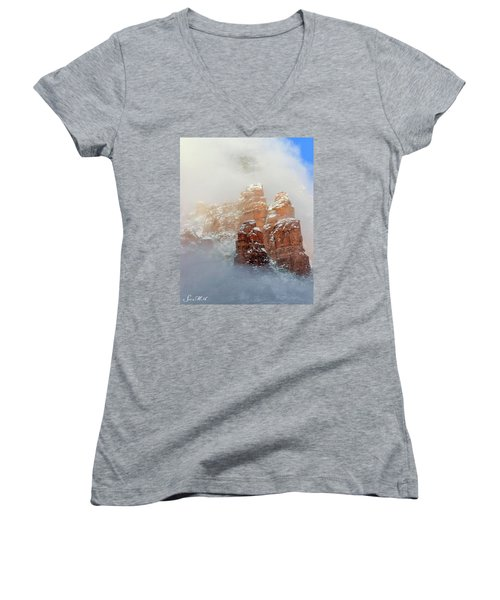 Snow 07-102 Women's V-Neck T-Shirt