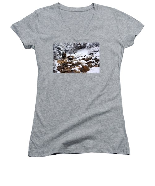 Snow Cup Women's V-Neck (Athletic Fit)