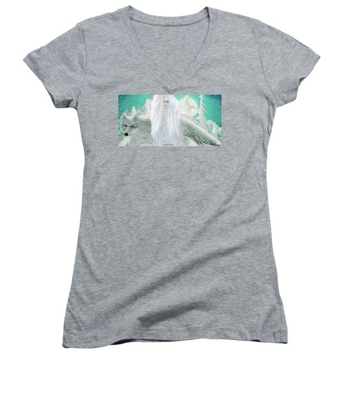 Snow Fairy Women's V-Neck