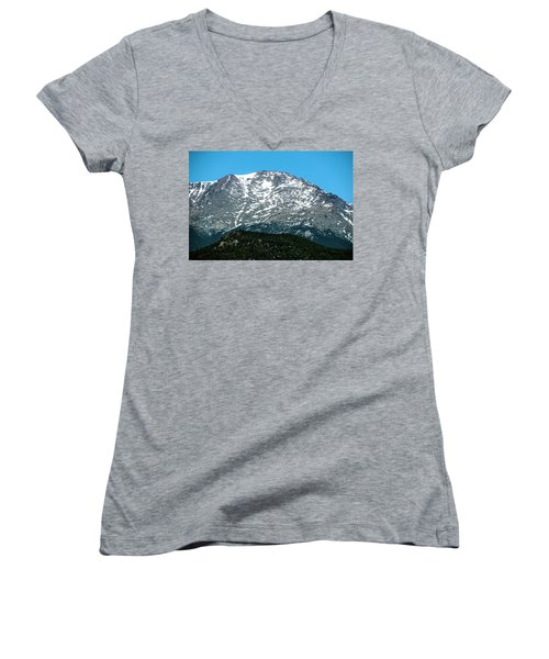 Snow In July Women's V-Neck (Athletic Fit)