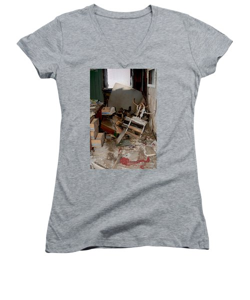 So Messy Women's V-Neck T-Shirt