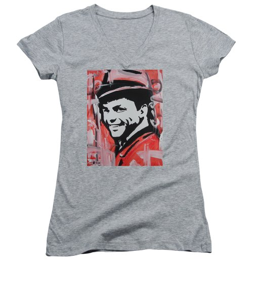 So Sinatra Women's V-Neck