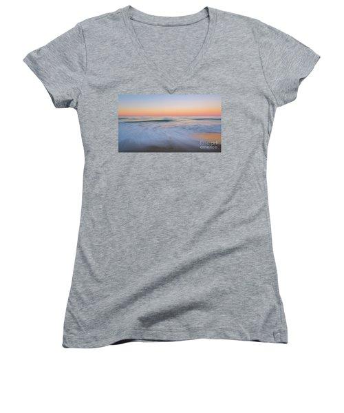Soft Sunset  Women's V-Neck