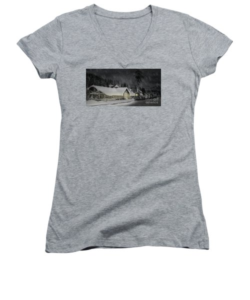 Solace From The Storm Women's V-Neck