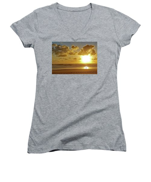Solar Moment Women's V-Neck