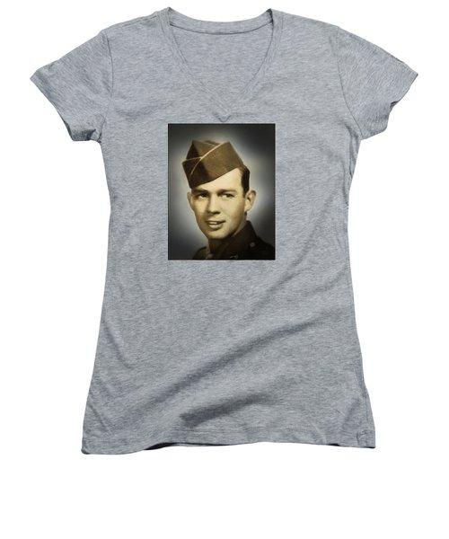 Soldier Boy Pastel Women's V-Neck T-Shirt