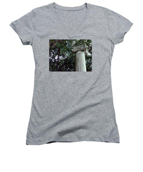 Solitary Women's V-Neck T-Shirt