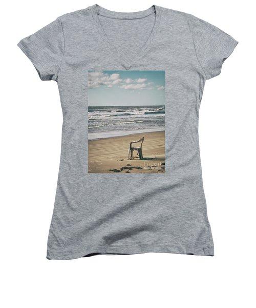 Solo On The Beach Women's V-Neck