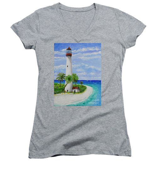 Somewhere Beautiful Women's V-Neck (Athletic Fit)