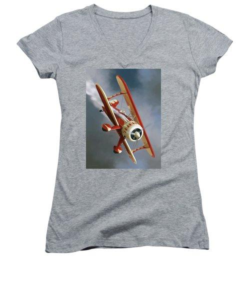 Son Of Samson Women's V-Neck T-Shirt