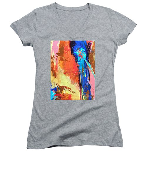 Song Of The Water Women's V-Neck T-Shirt