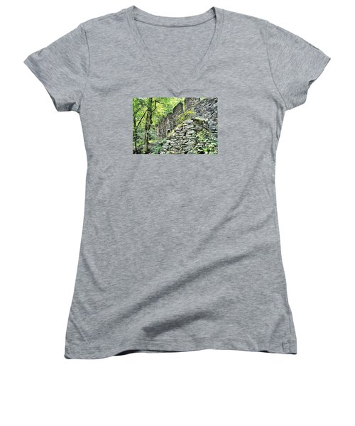 Sope Creek Mill Women's V-Neck (Athletic Fit)