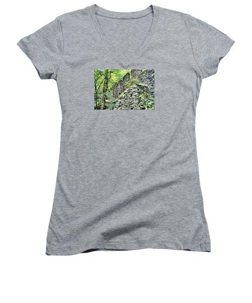 Sope Creek Mill Women's V-Neck T-Shirt