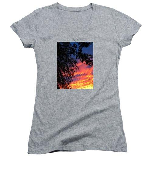 Sorrow Women's V-Neck T-Shirt