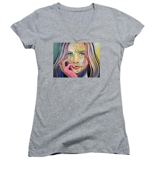 Soul Of Sunshine Women's V-Neck T-Shirt