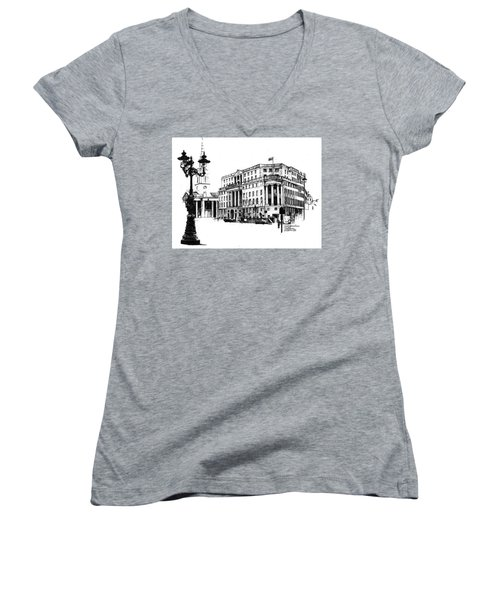South Africa House Women's V-Neck T-Shirt