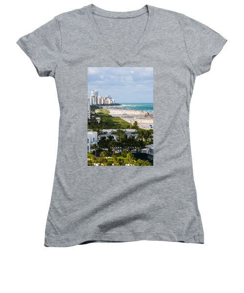 South Beach Late Afternoon Women's V-Neck