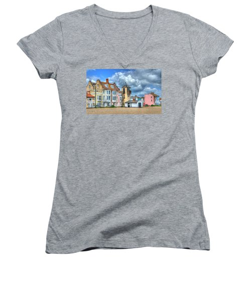 South Lookout Tower Aldeburgh Women's V-Neck T-Shirt