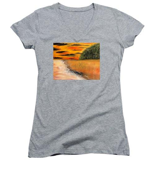 South Paciffic Women's V-Neck T-Shirt