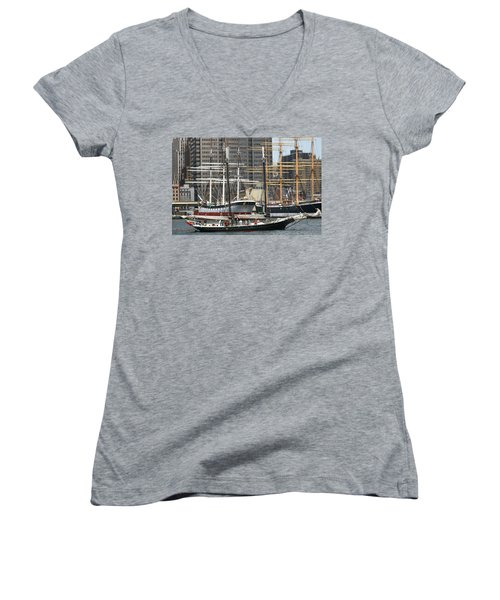 South Street Seaport Pioneer Women's V-Neck