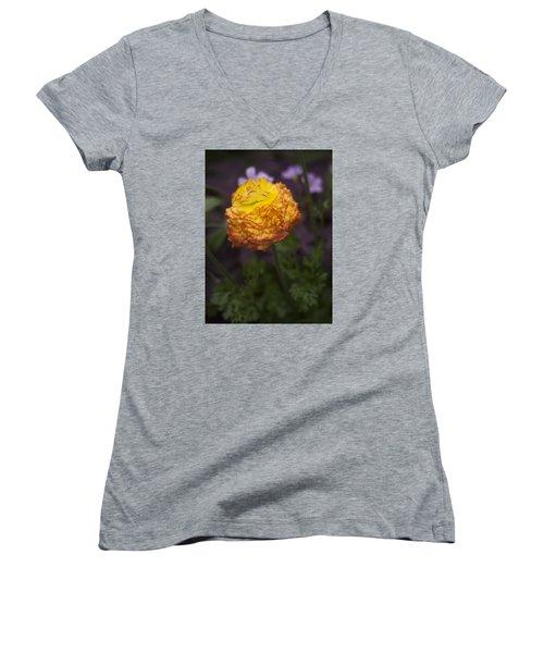 Southern Belle Women's V-Neck T-Shirt (Junior Cut) by Morris  McClung