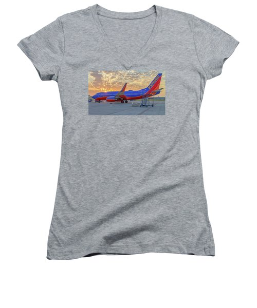 Southwest Airlines - The Winning Spirit Women's V-Neck (Athletic Fit)
