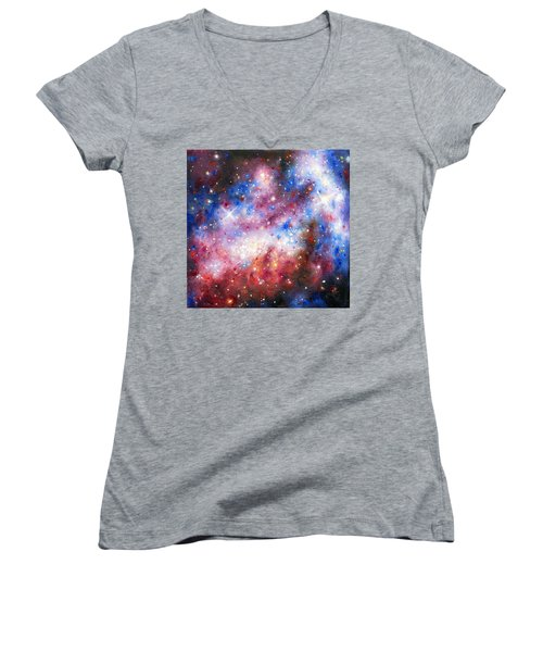 Space 1 Women's V-Neck T-Shirt