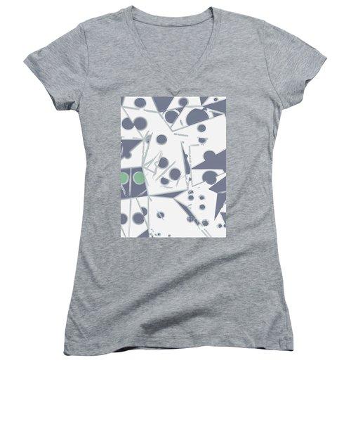 Space Warp  Women's V-Neck T-Shirt