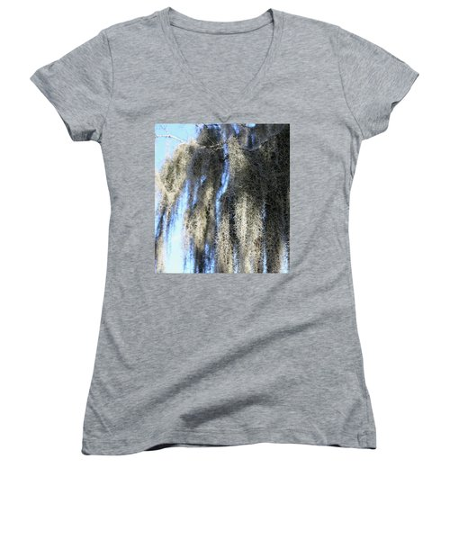 Spanish Moss Women's V-Neck T-Shirt