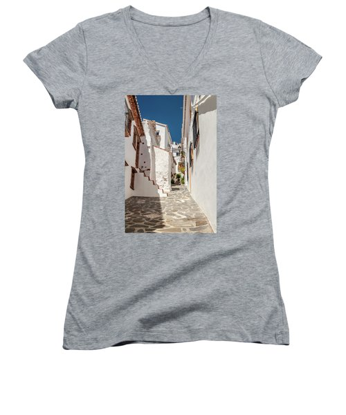 Spanish Street 1 Women's V-Neck