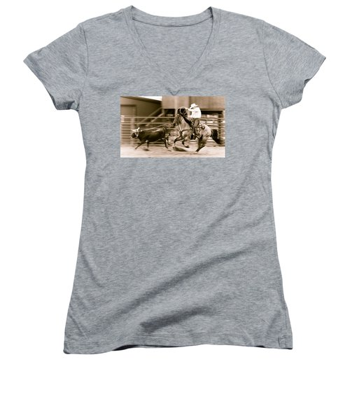 Speed Women's V-Neck (Athletic Fit)