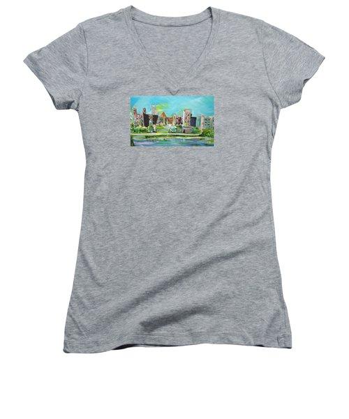Spellbound Bv Ashford Castle Women's V-Neck T-Shirt