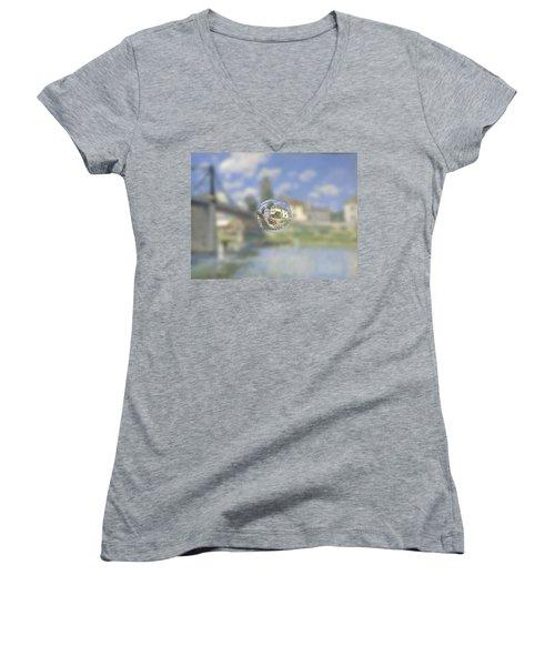 Sphere 18 Sisley Women's V-Neck T-Shirt