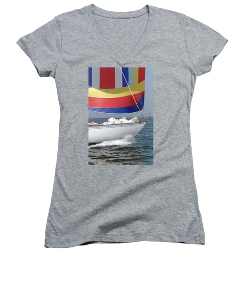 Spinnaker Run Women's V-Neck