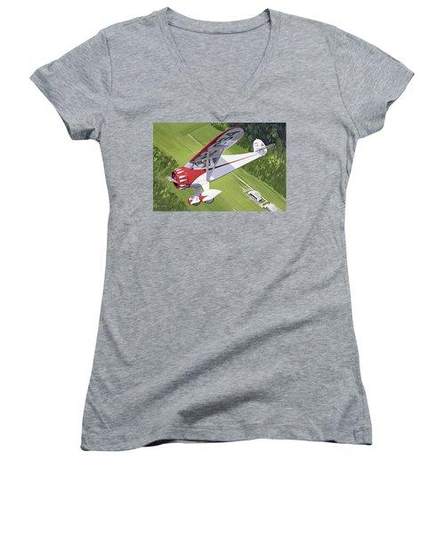 Spirit Of Dynamite Women's V-Neck T-Shirt