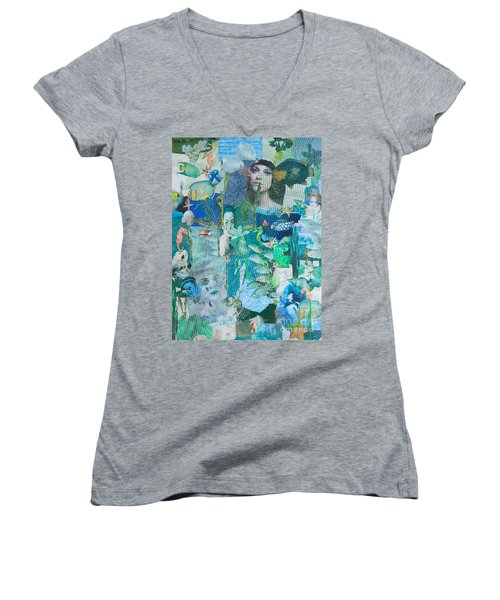 Spirits Of The Sea Women's V-Neck (Athletic Fit)