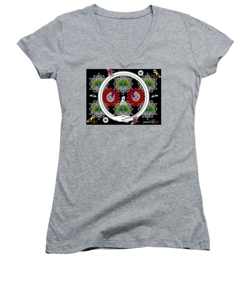 Spiritual Ablutions Women's V-Neck (Athletic Fit)