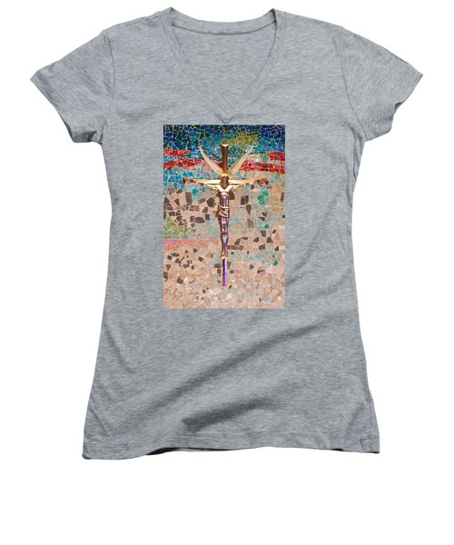 Spiritual Beauty Women's V-Neck (Athletic Fit)