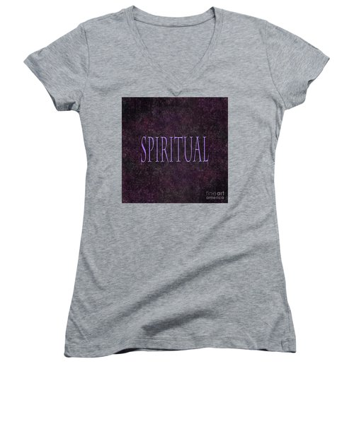 Spiritual Women's V-Neck (Athletic Fit)