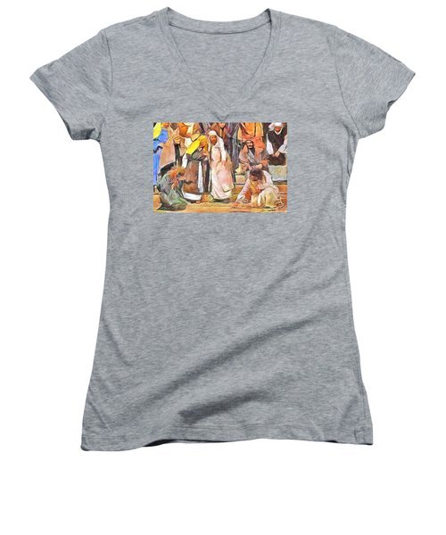 Spiritual Makeover Women's V-Neck T-Shirt
